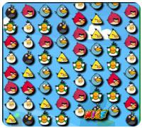 сердитые птицы три в ряд