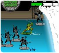 черепашки ниндзя игра 2
