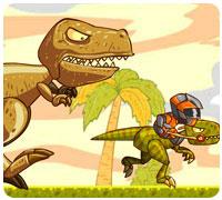 всадник на динозавре