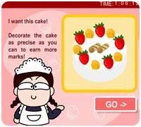 Испеки торт Играть
