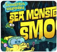 губка боб и морской монстр