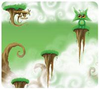 воздушные островки