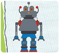 чинить роботов