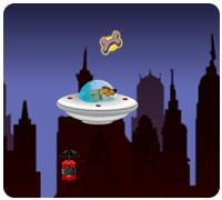 Летать на летающей тарелке