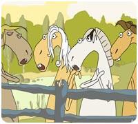 поющие лошади