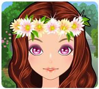 деревенский макияж