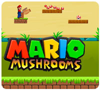 марио грибное королевство