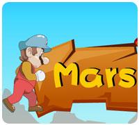 супер марио на марс