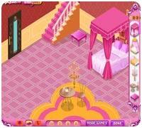 Обстановка комнаты Игры для девочек