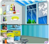 Обставь кухню Игры онлайн