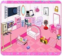 Игра Переделай розовую комнату