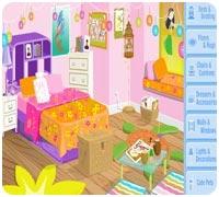 Игра Построй свою комнату