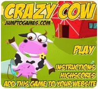 игра супер корова
