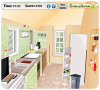 убирать на кухне
